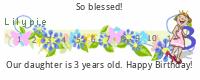 Lilypie Third Birthday (kxTK)
