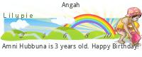 Lilypie Third Birthday (oAkb)